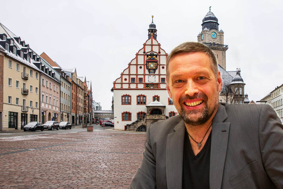 Darum will OB-Kandidat Ingo Eckardt ins Plauener Rathaus ziehen