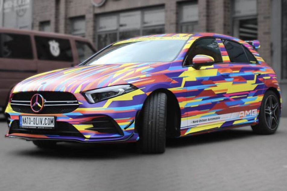 Hamburger Firma gestaltet Autos mit Folie komplett um