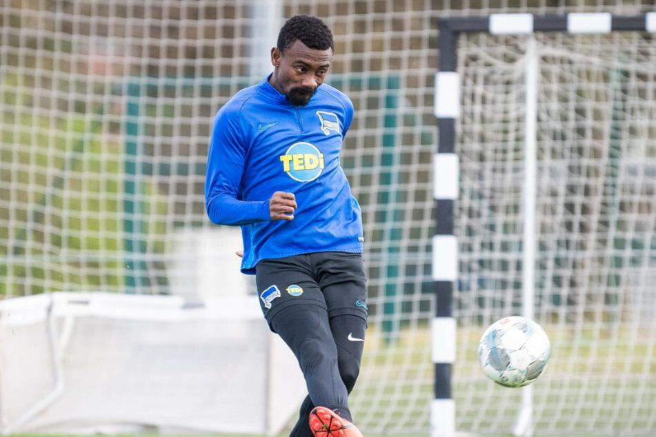 Salomon Kalou beim ersten Training unter Bruno Labbadia.