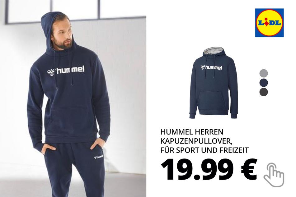 Hummel Herren Kapuzenpullover, für Sport und Freizeit