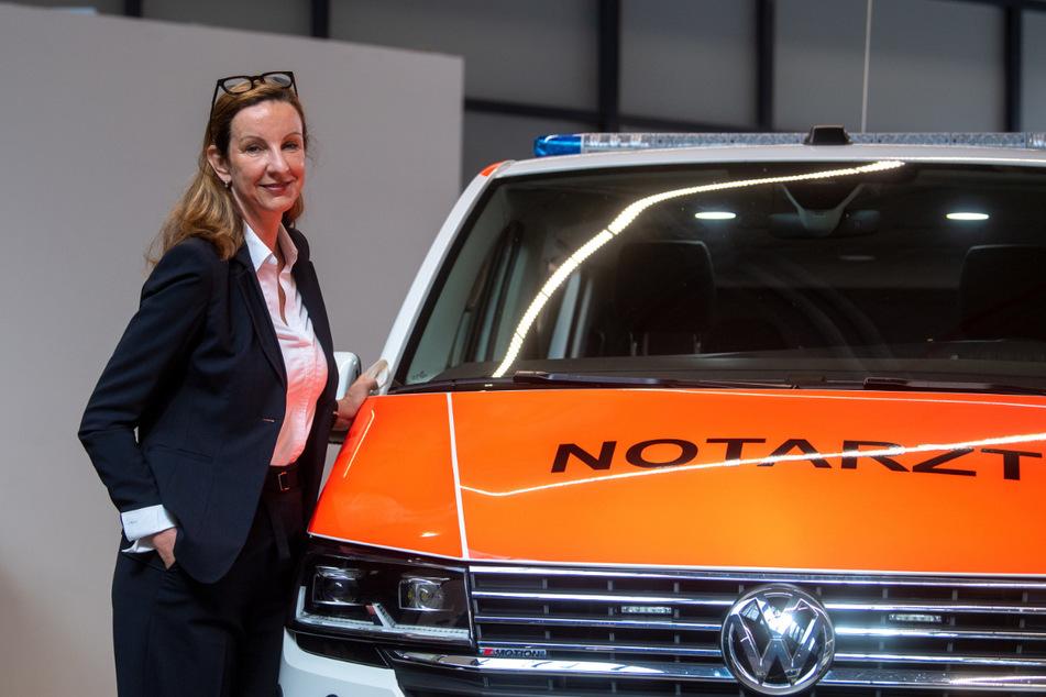 """Cathrin Wilhelm ist Geschäftsführerin der Firma """"Binz""""."""