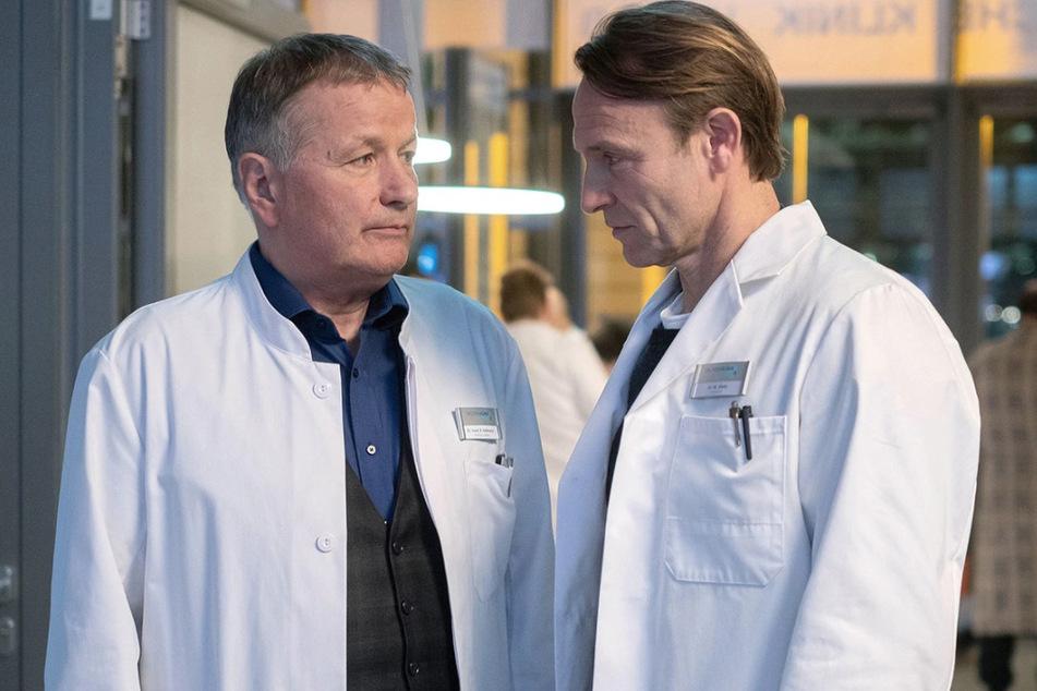 """In aller Freundschaft"" muss in Zwangsdrehpause wegen des Coronavirus."