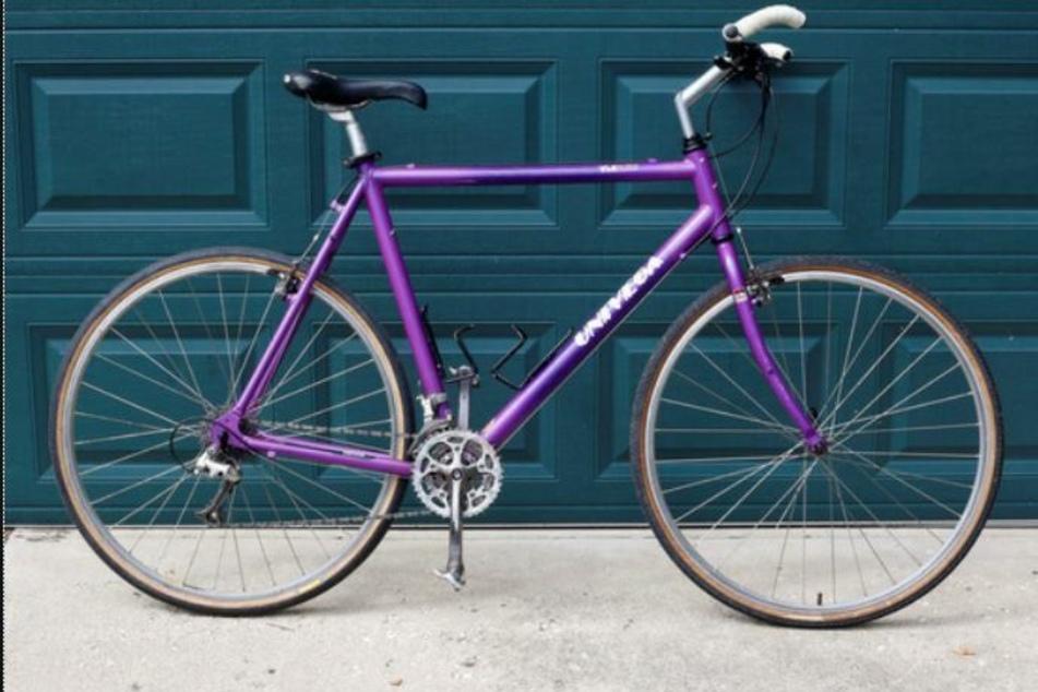Der vermisste Jens-Bernd S. ist vermutlich mit diesem Fahrrad unterwegs.