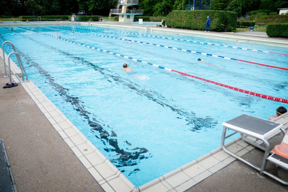 Das Sommerbad Wilmersdorf musste vorübergehend geschlossen werden.