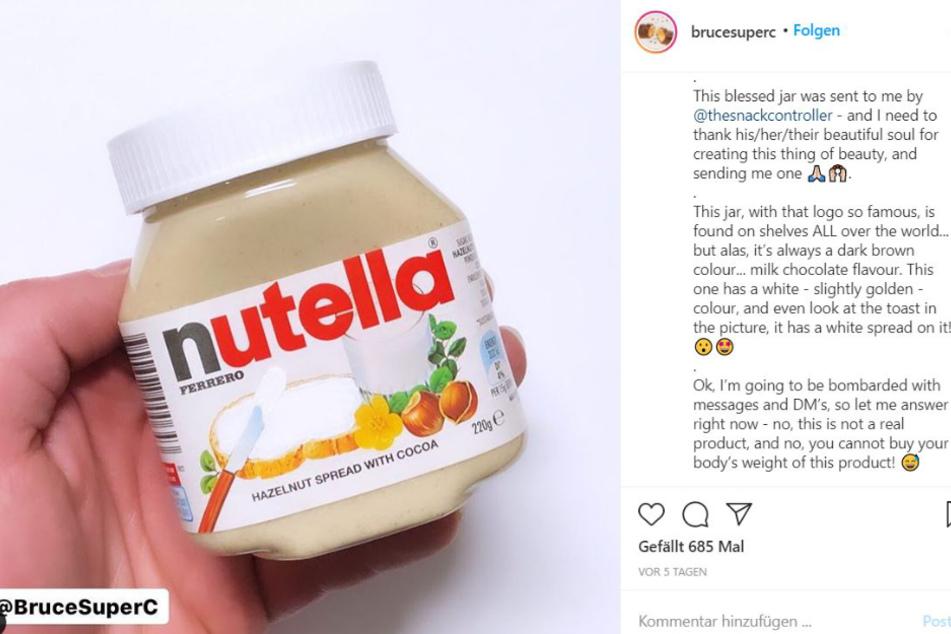 Weiße Nutella: Wie würde sie wohl schmecken und was wäre drin?