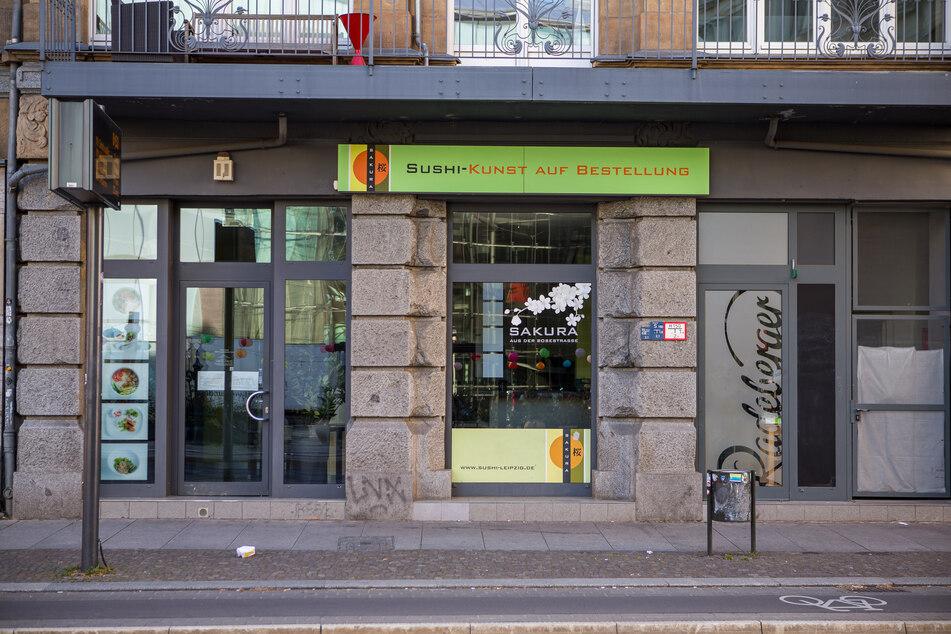 In diesem Leipziger Sushi-Lokal kam es im Oktober zum fast tödlichen Streit um Arbeitslohn.