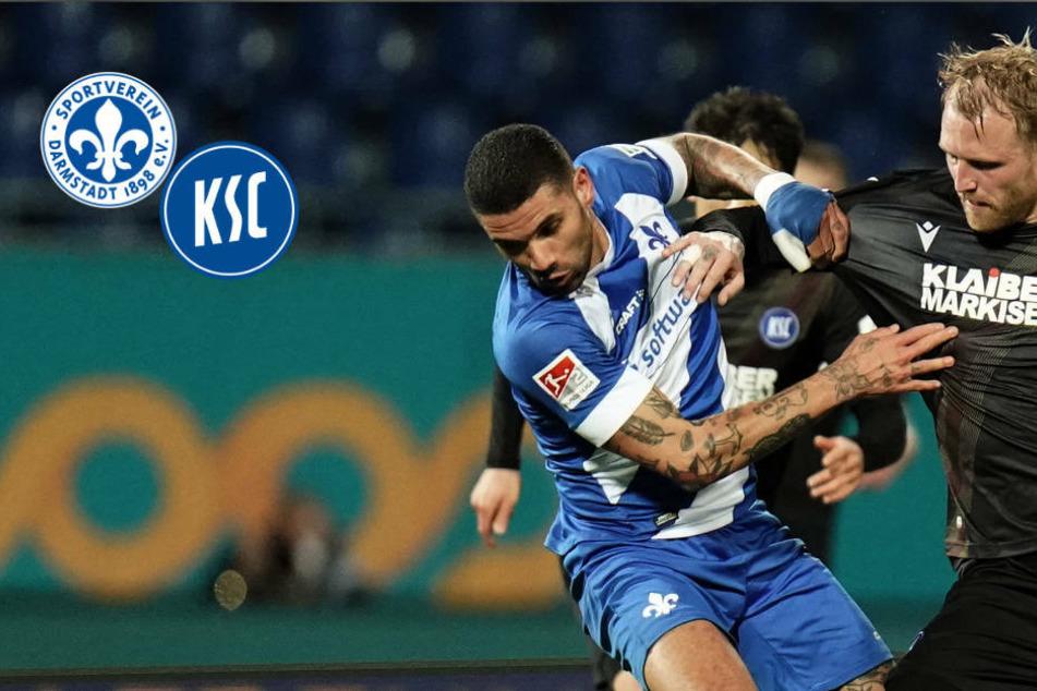 Lilien ohne Punkte gegen den KSC: SV Darmstadt 98 rutscht tiefer in die Krise!