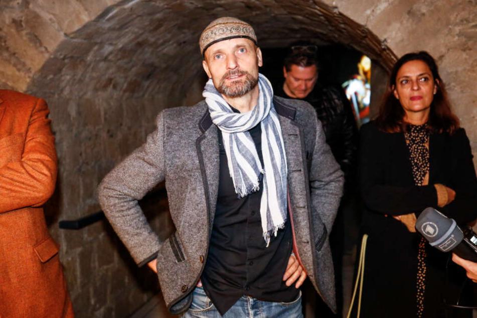 Historische Themen dramaturgisch bearbeitet und multimedial in Szene gesetzt: Kurator Dirk Welich (53).