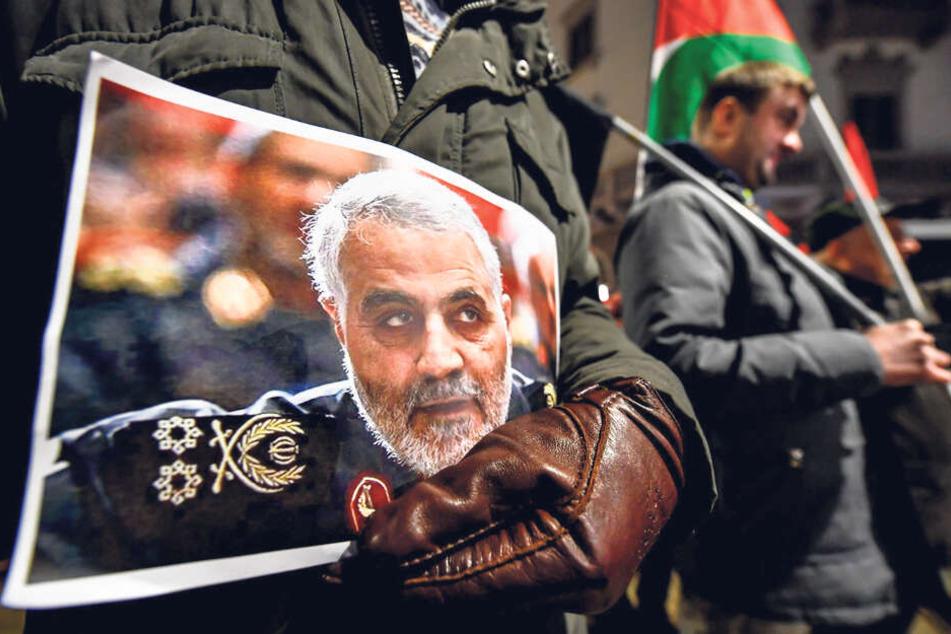 General Soleimani (†62) war und bleibt ein Idol der Massen.