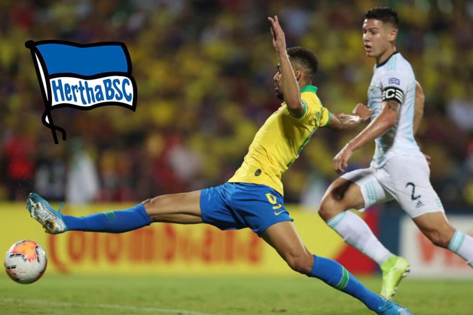 Hertha-Neuzugang Matheus Cunha zaubert Brasilien mit Doppelpack nach Olympia 2020