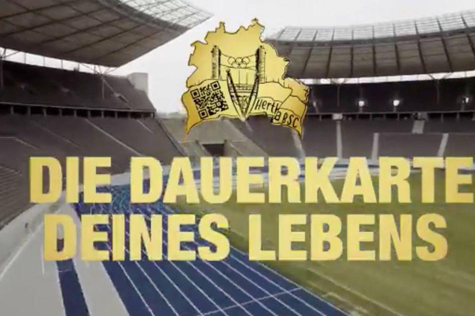 Hertha bietet seinen Fans lebenslang freien Eintritt in einer neuen Aktion.