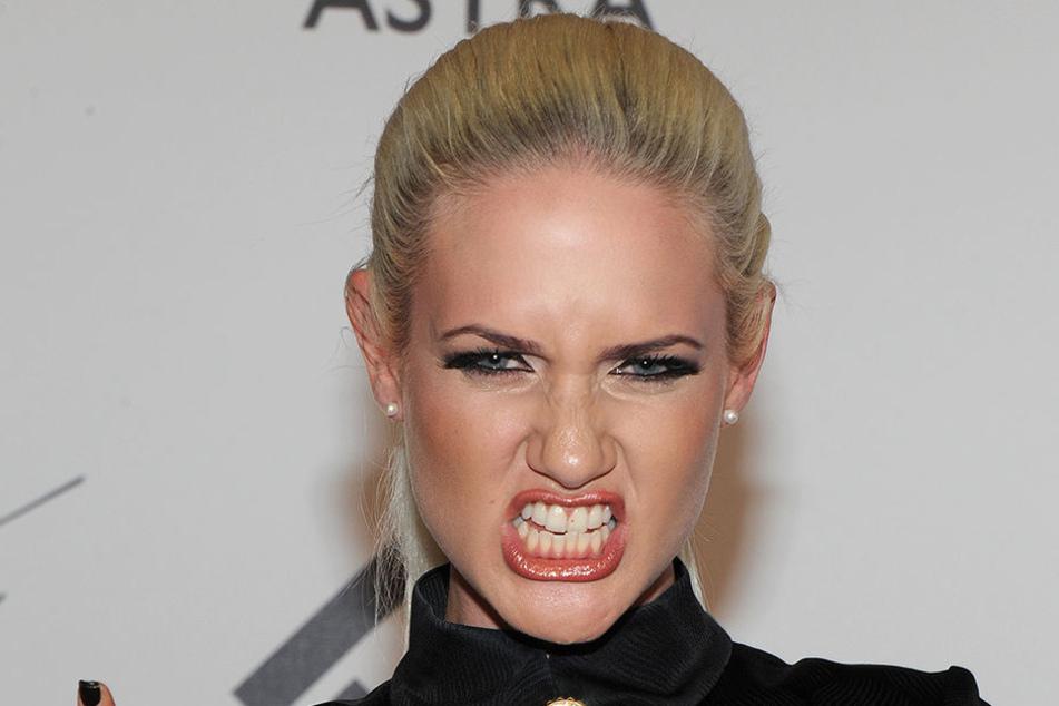 Model Sarah Knappik.