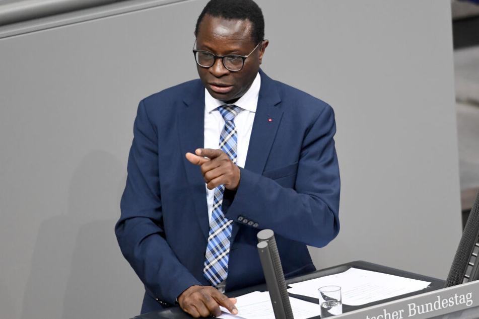 Auf das Büro des SPD-Bundestagsabgeordneten Dr. Karamba Diaby (58) ist geschossen worden.