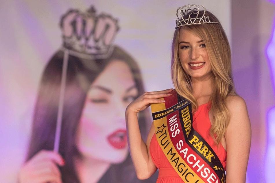 Zur Miss Sachsen hat es Nastassja Bittner (20) bereits geschafft. Seit November trägt sie den Titel.