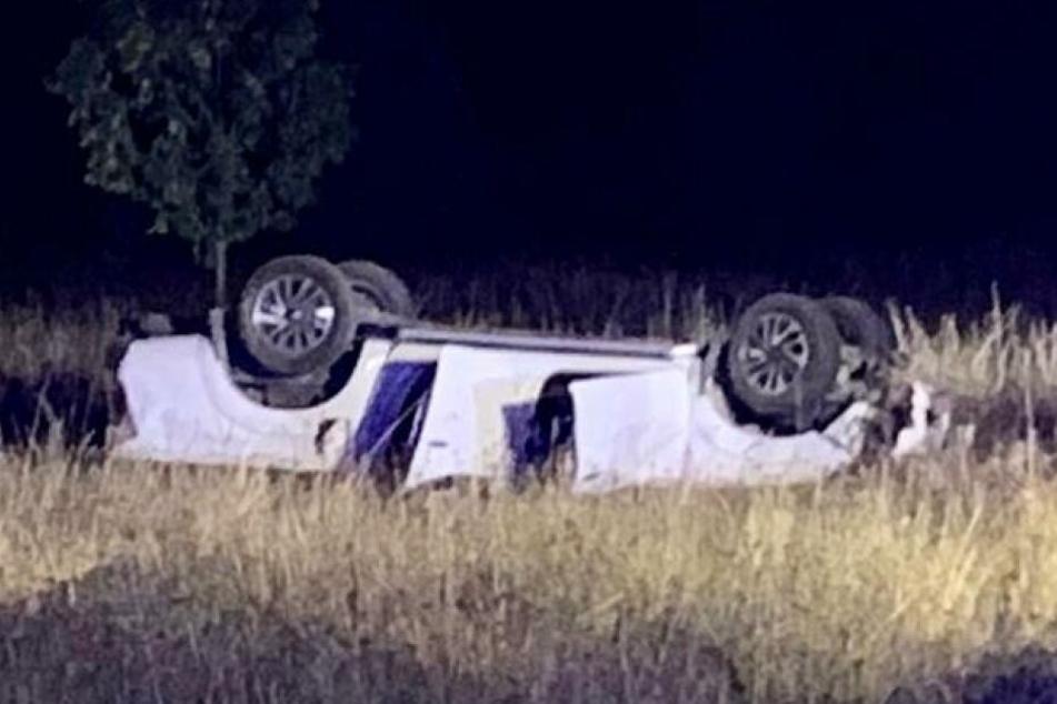 Bei dem Unfallwagen handelt es sich um ein englisches Fahrzeug mit englischer Zulassung.