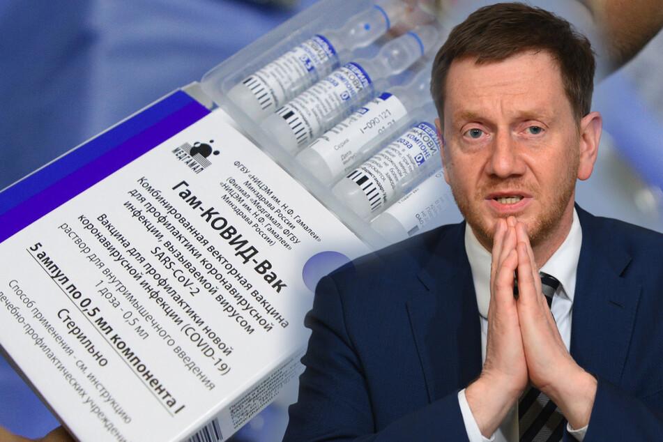 Russen-Impfstoff! Kretschmer will Sputnik nach Sachsen holen