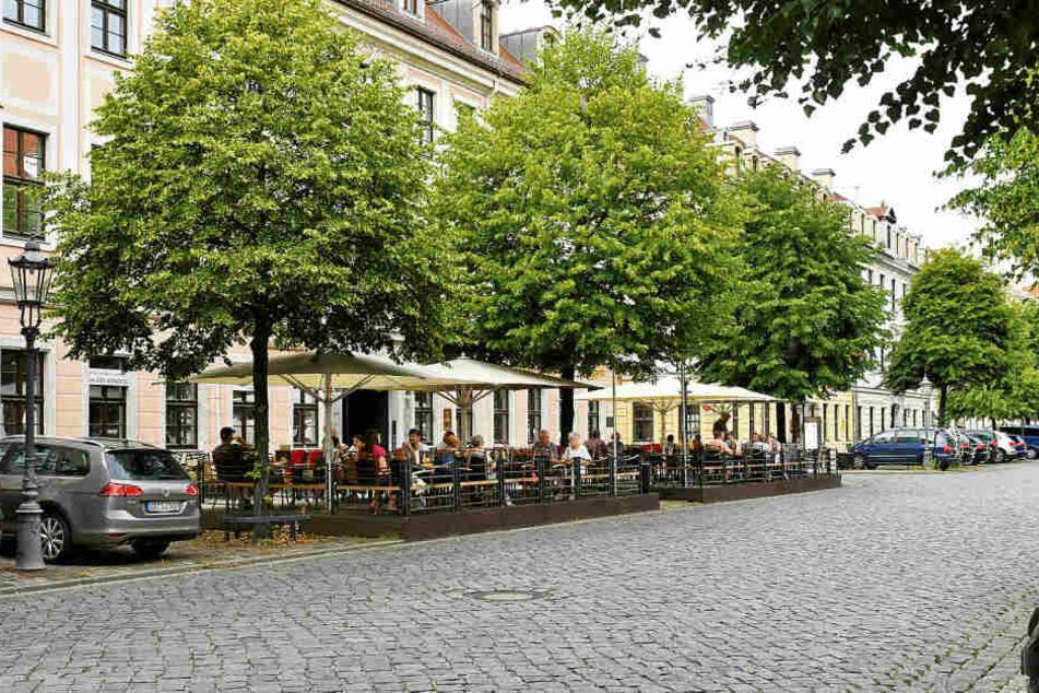 """Auch bei """"Wenzel Prager Bierstuben"""" in Dresden wird es das originale Girotti-Eis bald zu kaufen geben."""