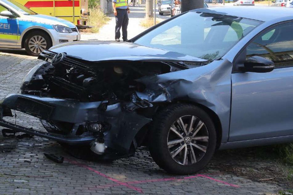 Vermutlich war ein VW für den Unfall verantwortlich.