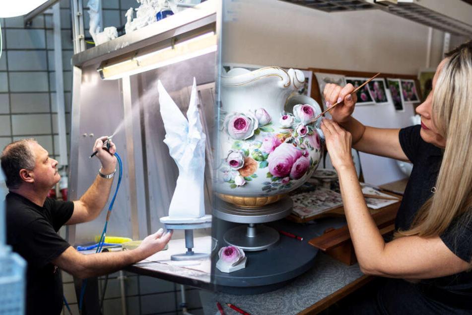 Finanzminister: Keine Job-Garantie für Porzellanmacher in Meißen