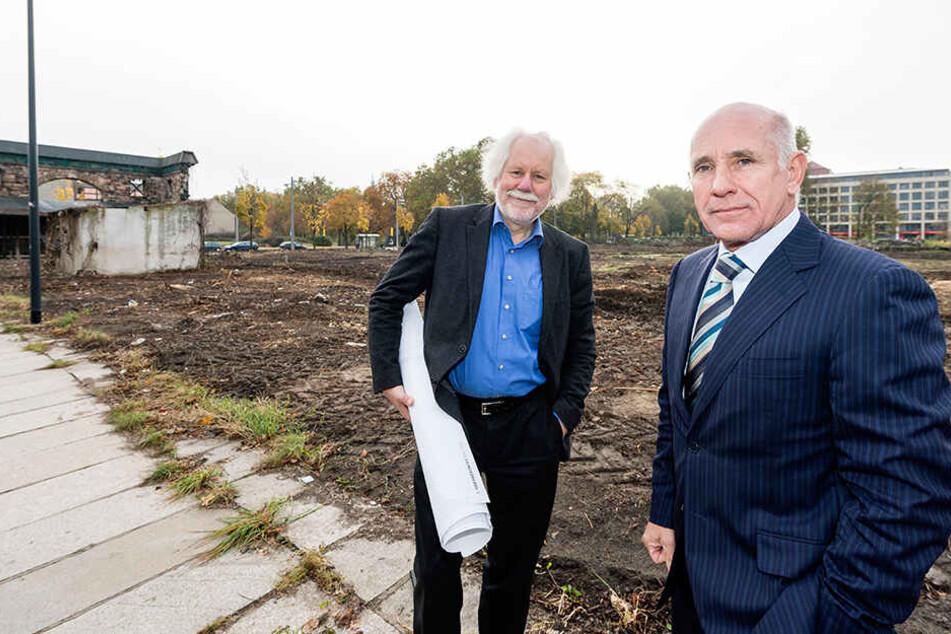 Investor Reinhard Saal (68) will die Werft verkaufen.