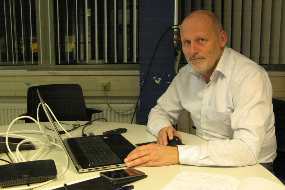 Steffen Schaarschmidt (63) ist der Geschäftsführer bei Robur.