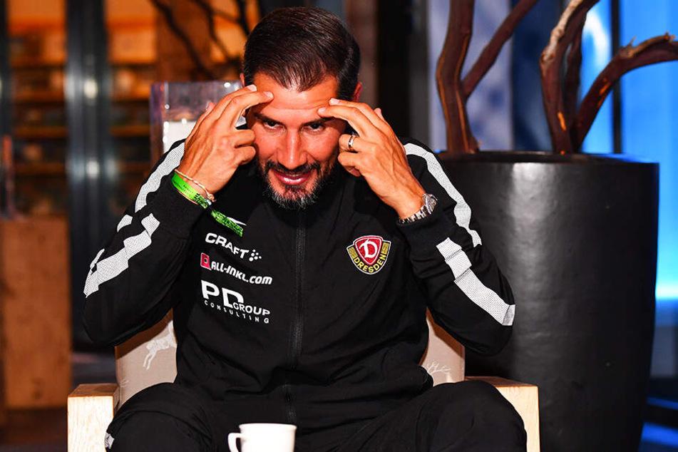 Mitdenken, Jungs! Cristian Fiel forderte vor allem mental viel von seiner Truppe.