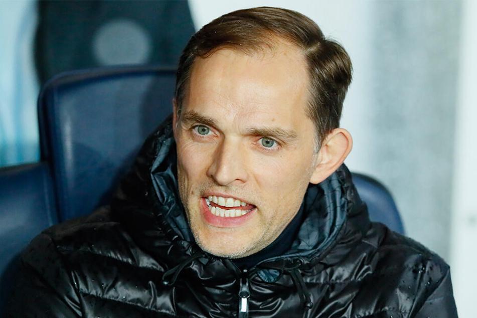 PSG-Trainer Thomas Tuchel (45) ist mit der Leistung seiner Mannschaft nicht zufrieden.