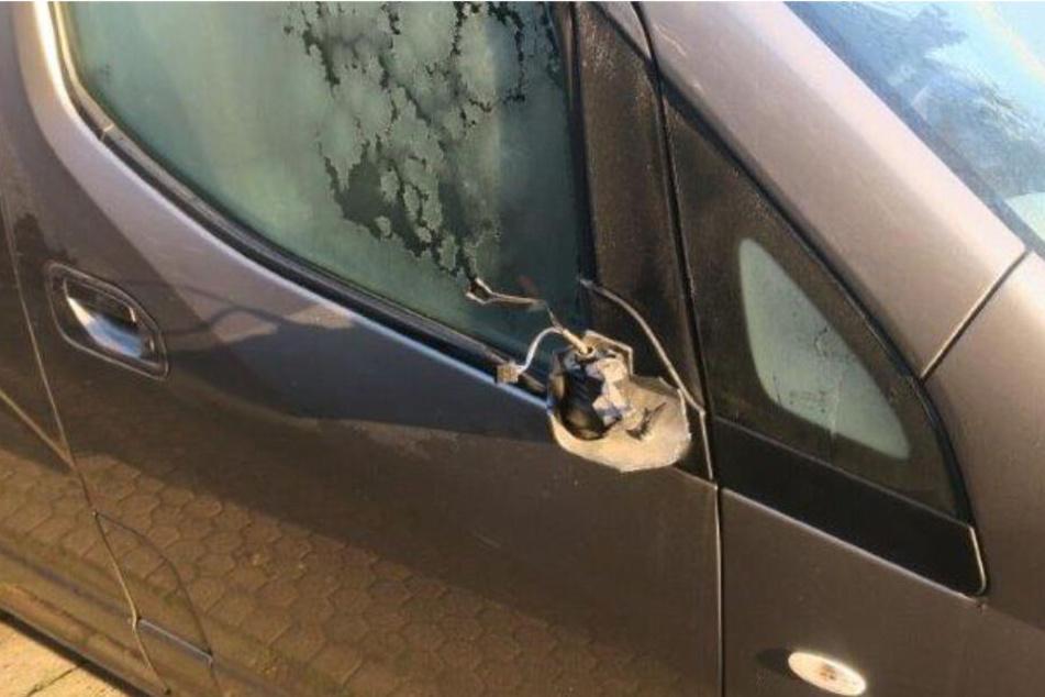Dummer Vandalismus in Bad Vilbel: Wer trat bei 20 Autos die Spiegel ab?