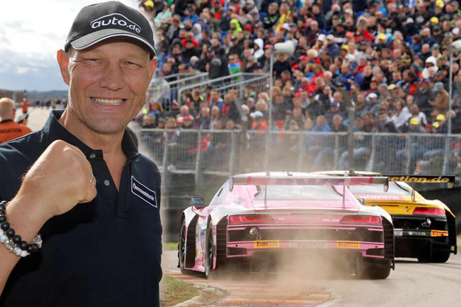 Was macht Ex-Boxer Axel Schulz auf dem Sachsenring?