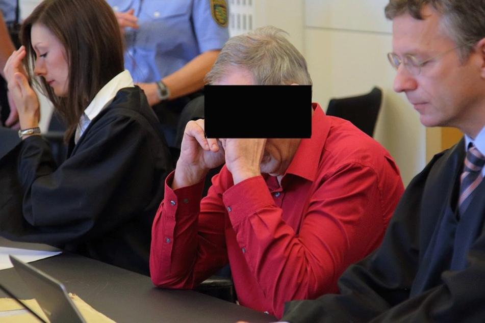 Norbert K. (62) im Dresdner Landgericht.