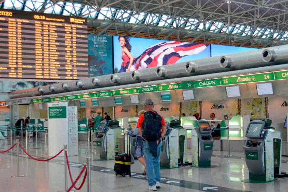 Aufgrund des Direktflugs aus Wuhan musste am Flughafen Rom-Fiumicino schnell gehandelt werden.