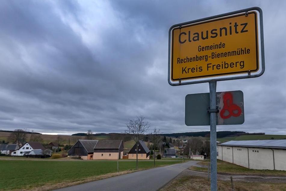 Vor einem Jahr in den Schlagzeilen: Clausnitz in Mittelsachsen.