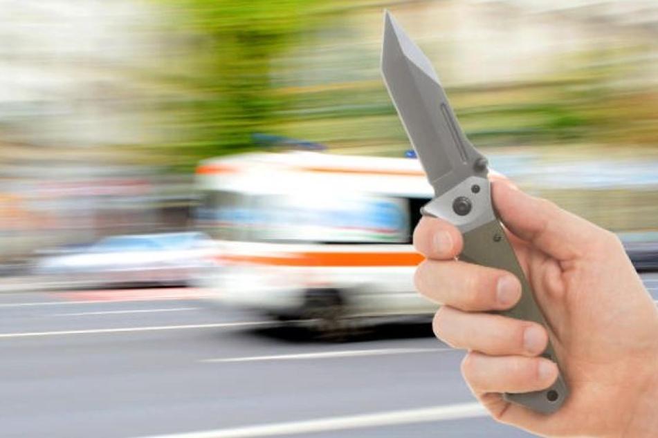 35-Jähriger attackiert Rentnerin mit Messer: Drei Verletzte