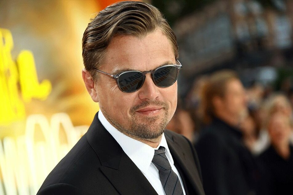 """Leonardo DiCaprio bei der Premiere des Films """"Once Upon a Time in Hollywood"""" am Leicester Square in London im Juli 2019."""