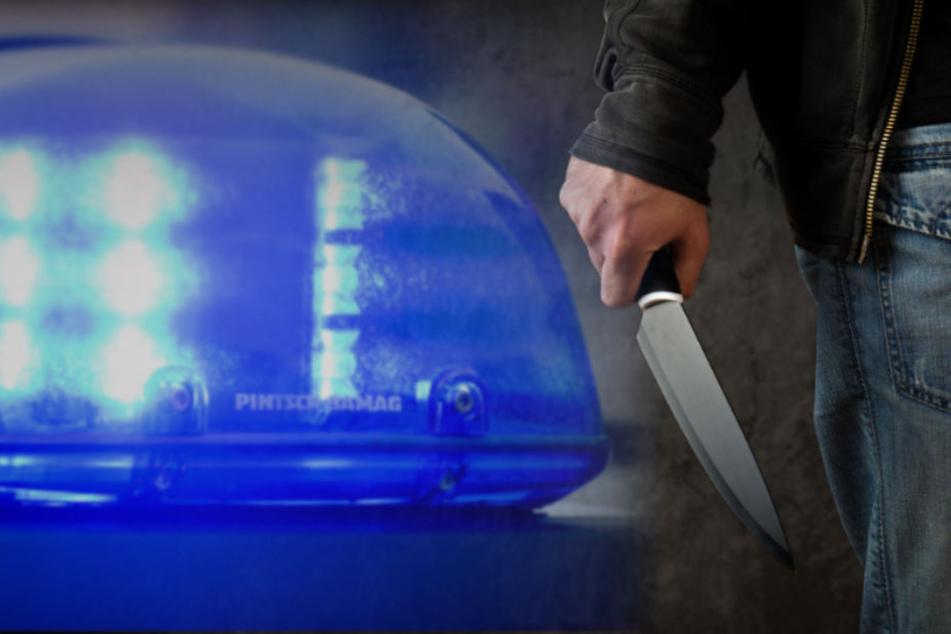 Bei einem Streit in Gera zwischen einem 32-jährigen Mann und einem 14-jährigen Jugendlichen wurde ein Messer gezogen. (Symbolbild)