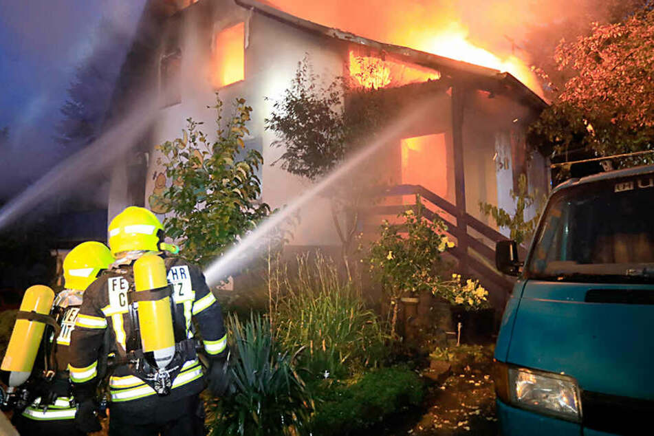 Bei dem Inferno Mitte August verbrannte das ganze Hab und Gut der kleinen  Familie.