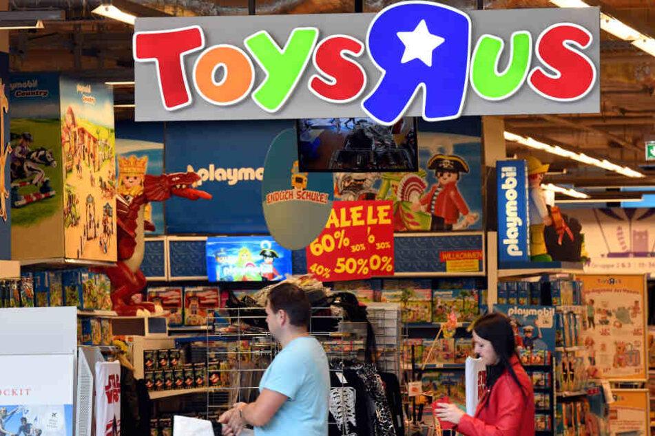 Toys 'R' Us ist ein Spielzeugparadies - vor allem für Kinder.