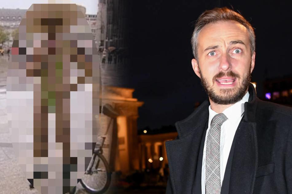 Im Borat-Outfit: Jan Böhmermann will peinliches Foto löschen