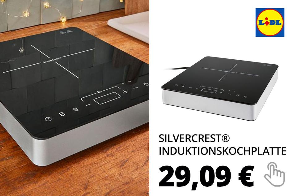 SILVERCREST® Induktionskochplatte »SIKP 2000 F1«