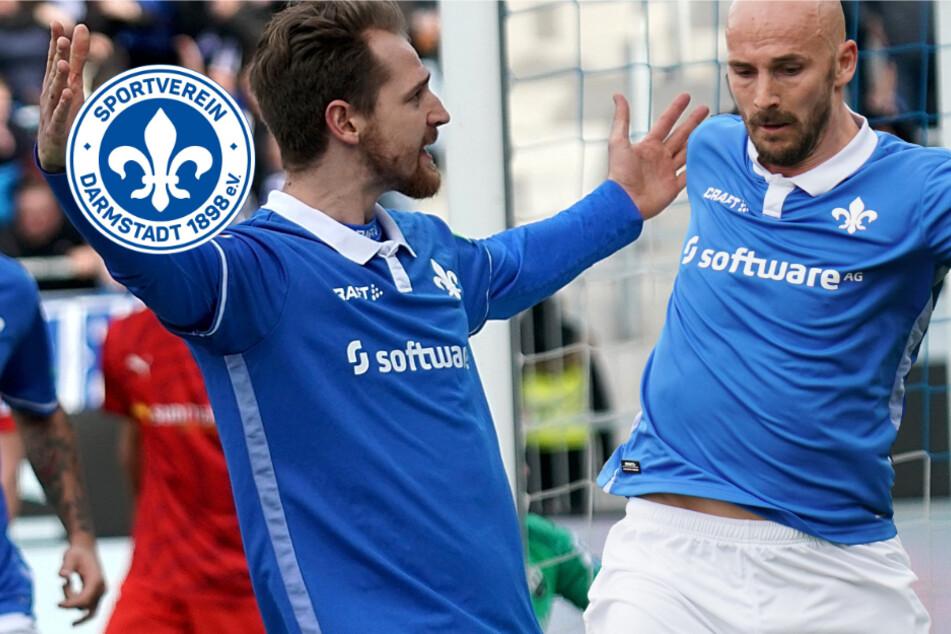 Tinte trocken: SV Darmstadt 98 verlängert mit Höhn und Herrmann