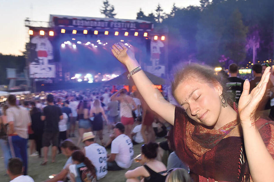 Um die 15.000 Besucher stürmen jedes Jahr das Kosmonaut-Festival in Rabenstein.