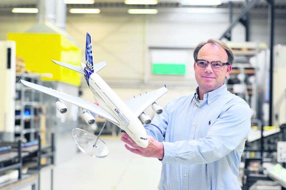 Freut sich über den prominenten Auftraggeber: Cotesa-Chef Jörg Hüsken (54).