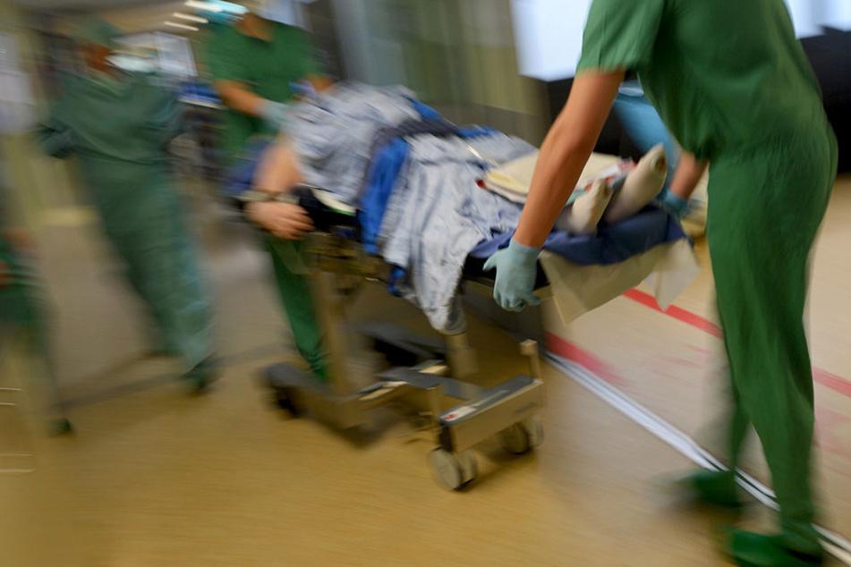 Die Frau ist glücklicherweise nach der Notoperation auf dem Weg der Besserung.