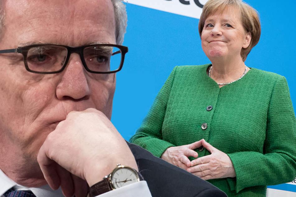 Thomas de Maizière wurde von Kanzlerin Merkel aussortiert. Seehofer tritt Nachfolge an.