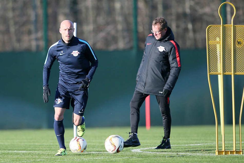 125 Spieler bestritt der Leipziger für RB Leipzig. Auch unter Ralf Rangnick spielte er für die Sachsen.