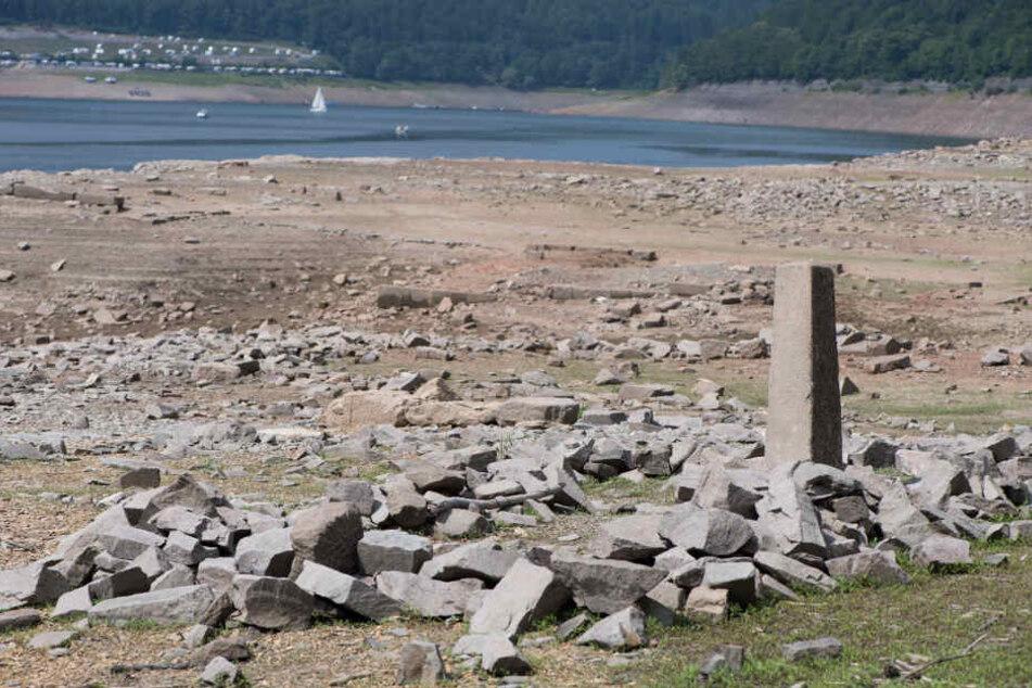 Heute sind die versunkenen Ruinen ein beliebtes Touristenziel.
