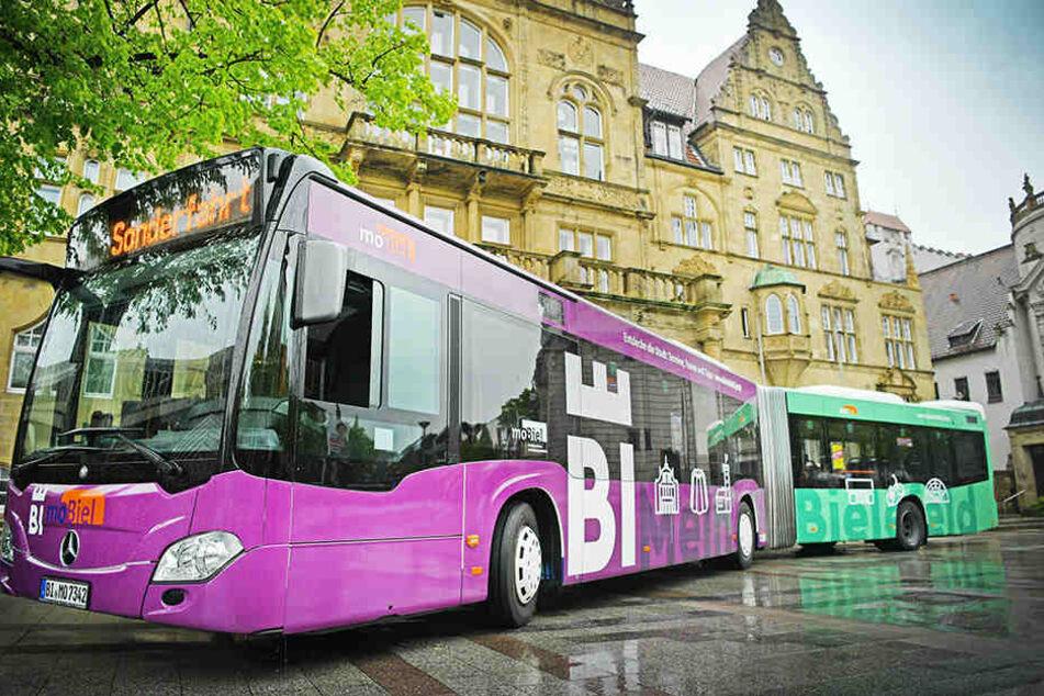 So sieht der neue Bus im BIE-Design aus.