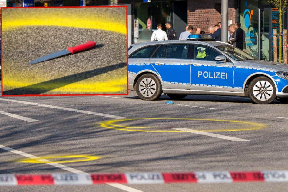 Polizei schießt 24-jährigen Messer-Angreifer nieder!