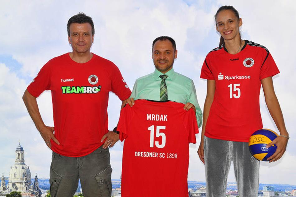 Ivana Mrdak freut sich auf ihren neuen Verein DSC und auf Dresden.