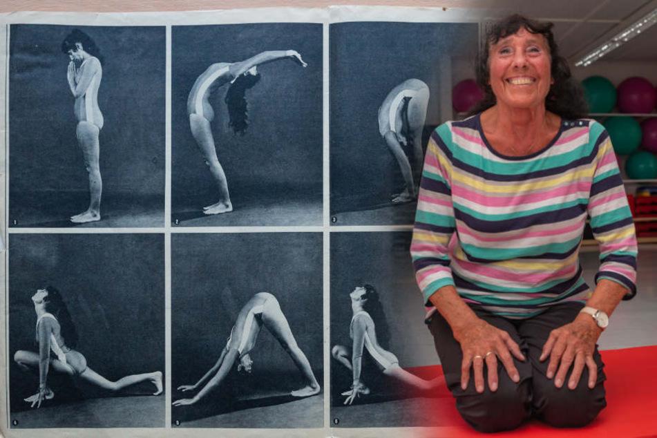 Leipzigs Yoga-Pionierin: Inge Schönfelder (76) gibt wöchentlich sieben Yoga-Stunden.